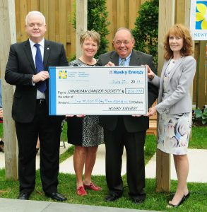 Husky Energy Canadian Cancer Society Donation